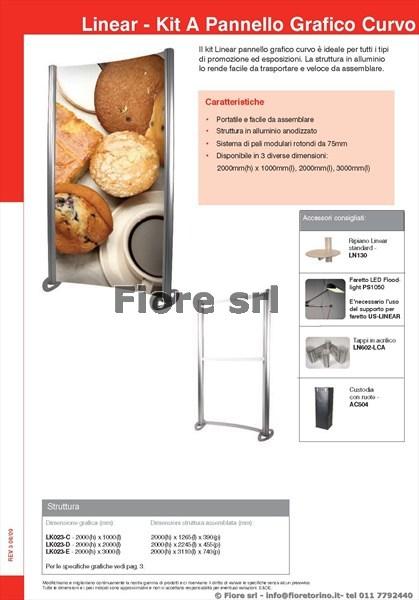 Kit A - Pannello Grafico Curvo 1