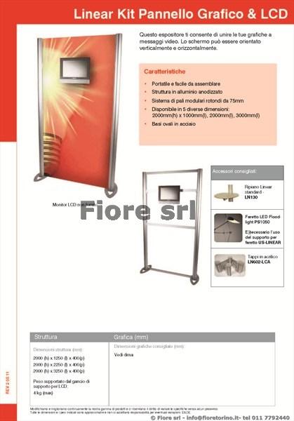 Linear Kit Pannello Grafico e LCD 1